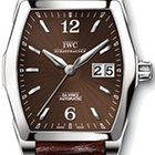 IWC Da Vinci Automatic, Brown Dial - Steel on Strap