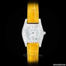Austern Ladies' Watch 14K White Gold and VVS Diamond Case Yellow