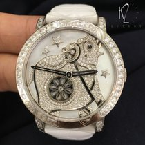 Boucheron Crazy Jungle Hathi in White Gold & MOP Dial