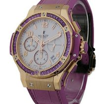 Hublot 341.PV.2010.RV.1905 41mm Big Bang Purple - Baguette...