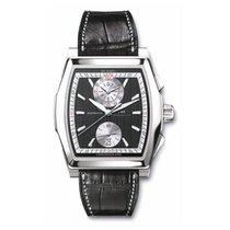 IWC Da Vinci Chronograph, Black Dial