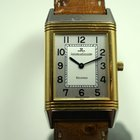 Jaeger-LeCoultre tutone Reverso W/box & papers dates...