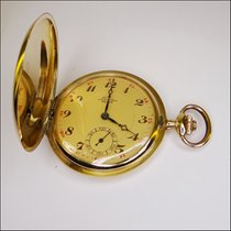 Leonidas Prima Pocket Watch 14kt Gold