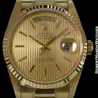Rolex 18238 Day Date President 18k Tapestry Dial New Box &...