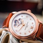 Frederique Constant Ladies' Double Heart Beat rose gold...