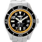 Breitling Superocean 42 Abyss Yellow Steel Mens Watch A17364