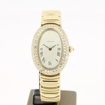 Cartier Baignoire 18K Yellow Gold Aftersetting Diamonds (BOX)...