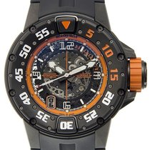 Richard Mille RM028-AJTI Titanium Transparent Skull Orange...