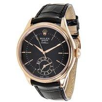 Rolex Cellini 50525 Multiple Time Zone Men's Watch in 18k...