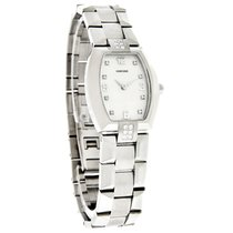 Concord La Scala Tonneau Diamond Stainless Steel Ladies Watch...