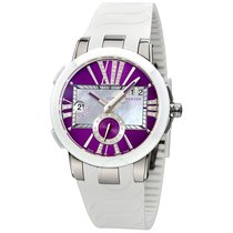 Ulysse Nardin Executive Dual Purple Dial Ladies GMT Watch