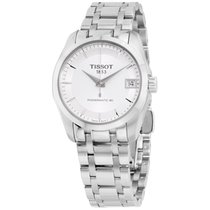 Tissot Couturier Automatic Stainless Steel Ladies Watch...