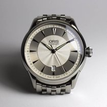Oris Artelier Date, steel, with box and papers