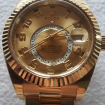 Rolex sky dweller 18K yellow gold