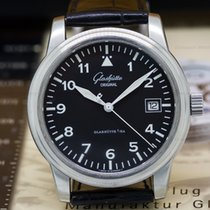 Glashütte Original Senator Navigator Date SS Black Dial
