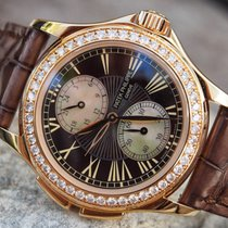 Patek Philippe Complicated Calatrava Travel Time 18K Solid...