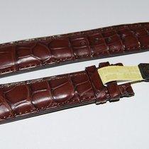 IWC CROCO Lederband,braun 21/18 mm