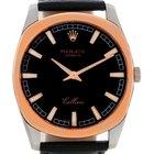 Rolex Cellini Danaos 18k White And Rose Gold Watch 4243 Unworn