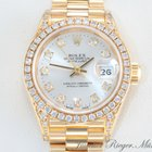 Rolex LADY DATEJUST GELBGOLD 750 DIAMANTEN Date Just