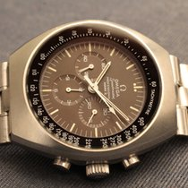 Omega speedmaster mark 2 brown tropical dial - marrone
