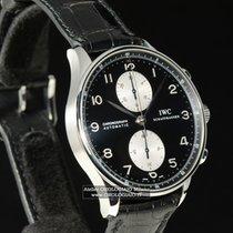IWC PORTOGHESE Automatic Chronograph 3714 Scatola e Garanzia