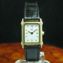 Ebel 18kt 750 Gold Damenuhr Mit Diamant Besatz / Ref 866916 /...