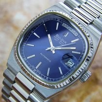 Bulova Super Seville Vintage Rare Stainless Swiss Automatic...