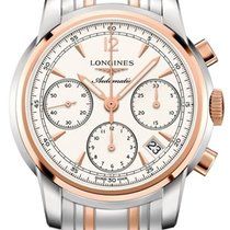 Longines The Saint-Imier 41mm L2.752.5.72.7 Steel Rose Gold...