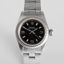 Rolex Oyster Perpetual 26mm White Gold Bezel