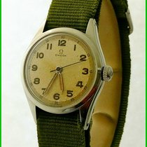 Omega 2543-1 Military WWII Pulsometer 31mm Cal. 231 Steel...