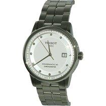 Tissot Luxury Automatic White Dial Men's Watch T0864081101600