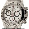 Rolex Daytona 18k White Gold Silver Dial 40mm Circa 2005 116509