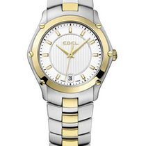 Ebel Classic Sport Silver Dial 18Kt Yellow Gold and Steel...