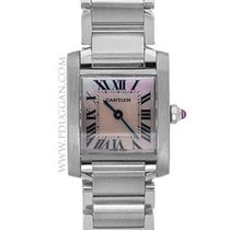 Cartier stainless steel small Tank Francaise