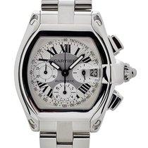Cartier Roadster Cronografo Xl In Acciaio Ref. W62019x6