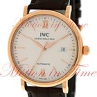 IWC Portofino Automatic 40mm, Silver Dial - Rose Gold on Strap