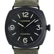 Panerai New  Radiomir Stainless Steel Black Manual Wind PAM00643