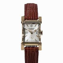 Wittnauer , Wristwatch with Diamonds, 14K Yellow Gold