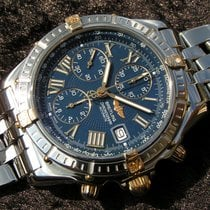 Breitling Crosswind B13055 Blue Dial Steel Gold With Pilot Band