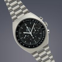 Omega Speedmaster Mark II stainless steel manual chronograph...