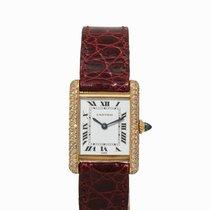 Cartier Must Ladies' Watch, 18K Gold, Switzerland, 1990s