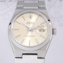 Rolex Datejust Oysterquartz silver dial steel rar 17000 First...