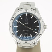 TAG Heuer LINK Calibre 5 Day&Date 42mm Steel (BOX2013) MINT