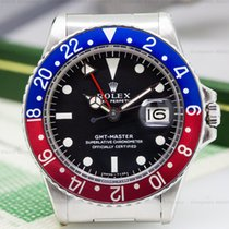 "勞力士 (Rolex) 1675 Vintage GMT Master Blue / Red ""Pepsi..."