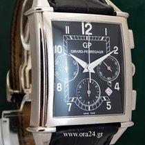 Girard Perregaux Vintage 1945 XXL Automatic Chrono 18k White...