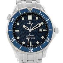 Omega Seamaster James Bond Blue Wave Dial Mens Watch 2541.80.00