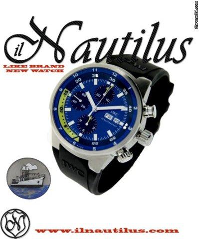 IWC Aquatimer Chronograph Cousteau Divers Tribute to Calypso