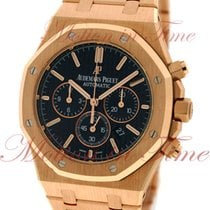 Audemars Piguet Royal Oak Chronograph, Black Dial - Rose Gold...