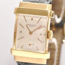 Patek Philippe Top Hat Ref. 1450 18kt Gold Handaufzug Stammbuc...