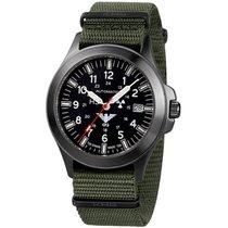 KHS Uhren Herrenuhr Black Platoon Titan Automatik KHS.BPTA.NO